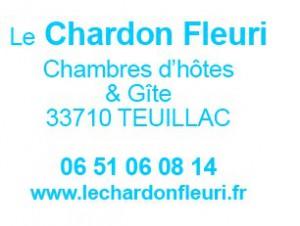 Chardon fleuri