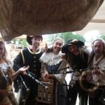 Les Médiévales de l'Estuaire et ses troupes