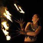 danses de feu - Les Médiévales de l'Estuaire