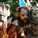 troupe - masque - médiévale